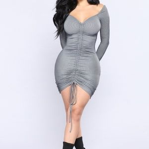 Fashion Nova Ruched dress